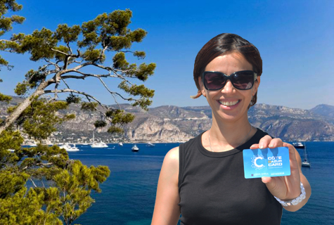 Discover the CÔTE D'AZUR CARD